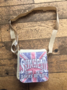 Small Union Jack Skinhead Bag